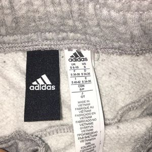 Grey Adidas sweatpants size small